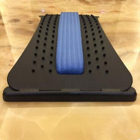 Back Massage Stretcher Stretching Magic Lumbar Support Waist Neck Relax Mate Device Spine Pain Relief Chiropractic