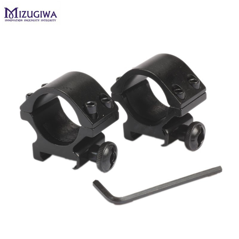 2pcs Optical Sight Bracket Metal Rifle Scope Mount Rings 1