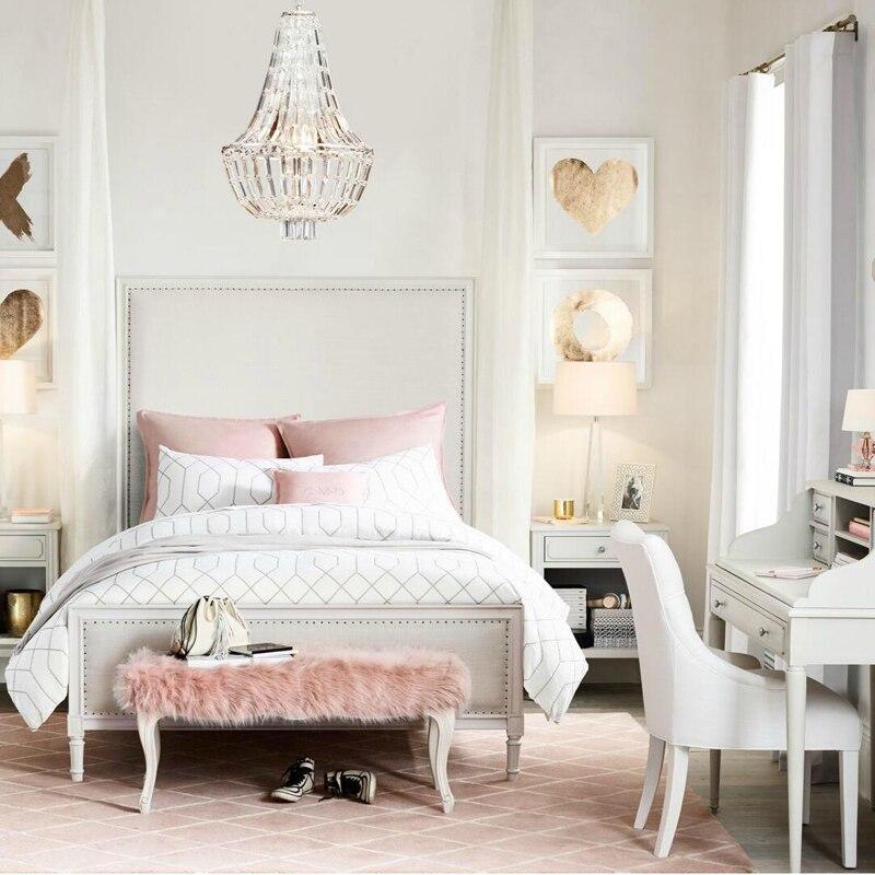 aliexpress koop t retro amerikaanse crystal slaapkamer