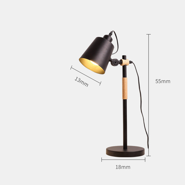 desk lamp size details