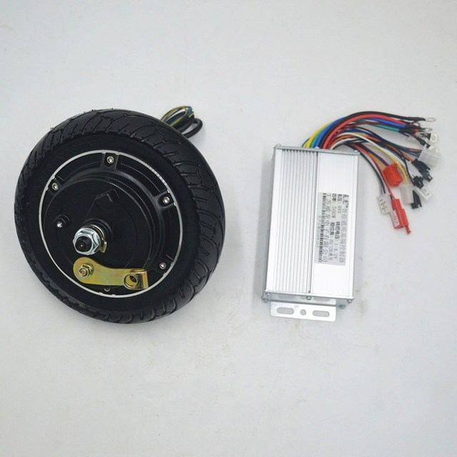 36V 48V 350W hub motor Electric E-scooter conversion kit Brushless Toothless E bike Engine Wheel Scooter Motor Kit