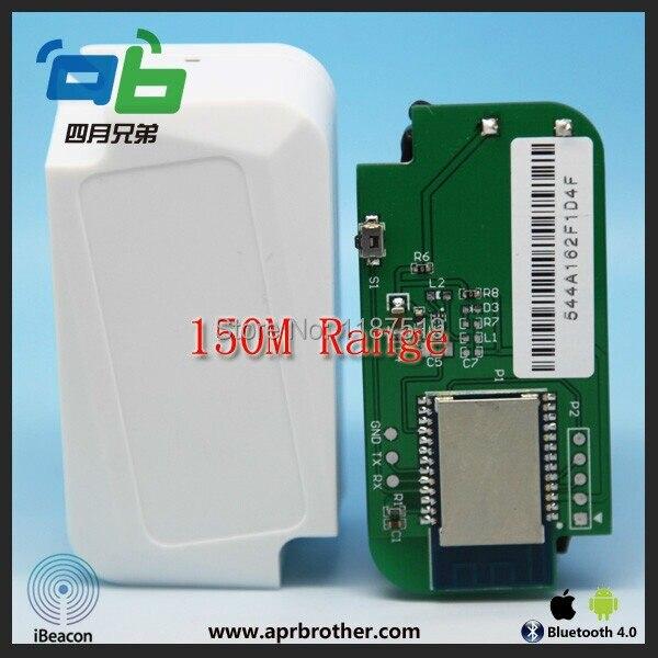 AprilBeacon 150m Long Effect Range Ibeacon Module Bluetooth 4.0 Module UUID Programmable Ibeacon for IOS and Android 4.3 hot sales uuid programmable ibeacon nrf51822 module ble4 0 beacon waterproof ibeacon