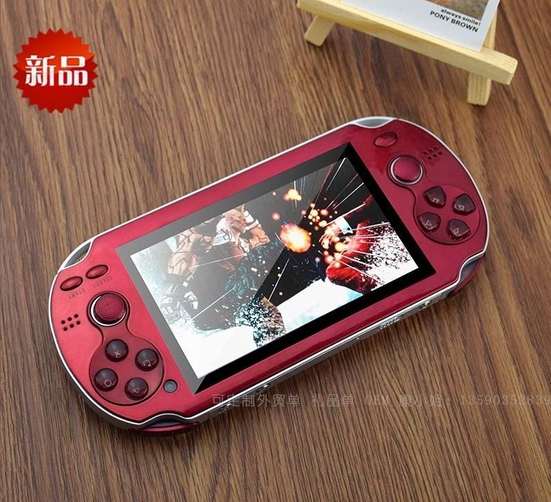 Android System Touch Screen Wifi MP3 MP4 MP5 PS Video Game Console with HDMI Output and