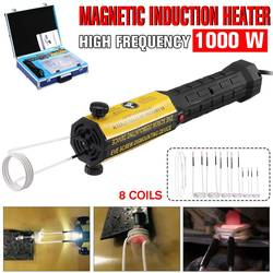 Réchauffeur d'induction 110 V/220 V 8 bobines boulon Kit d'outils de dissolvant de chaleur sans flamme magnétique Induction chauffage voiture démontage réparation outil