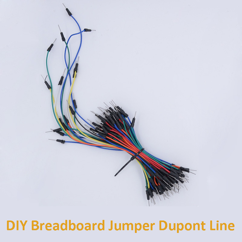 65pcs/Lot DIY Breadboard Jumper Dupont Line Multifunctional Experimental Board Connecting Wire For Electronic Production
