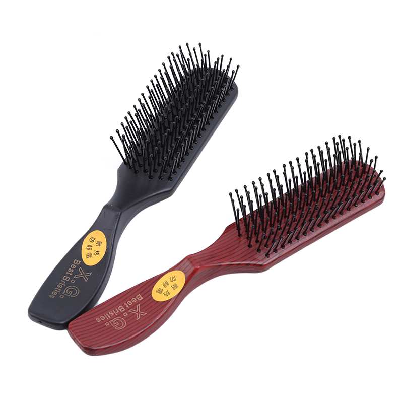 New Anti-static Hairdressing Comb Hair Brush Ventilation Comb Heigh Quality For Salon Home Use Beauty Hair Styling Tool Plastic