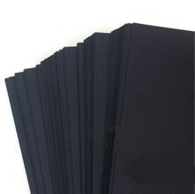 Multi-purpose A3 / A4 black card paper high quality children manual paper DIY scrapbook paper gift packing paper