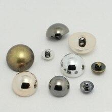 20 шт./лот пластиковые модные пуговицы имитация металла золотые грибы женский костюм рубашка кардиган шифоновая рубашка пальто кнопки