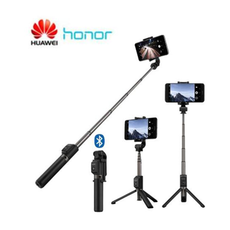 <font><b>Huawei</b></font> <font><b>Honor</b></font> Selfie Stick AF11 Monopod Wired Extendable Handheld Shutter for Mobilephone 128g 66cm image