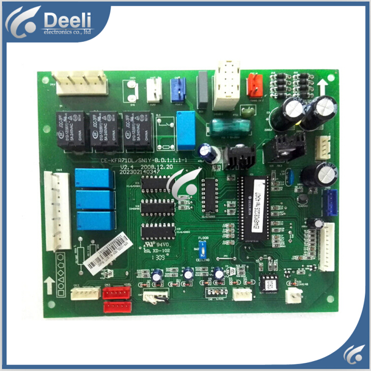 95% new good working for Midea air conditioning Computer board CE-KFR71DL/SN1Y-B.D.1.1.1-1 V2.4 control board on sale  95% new good working for midea air conditioning computer board mdv d22t2 d 1 4 1 mdv d22t2 board