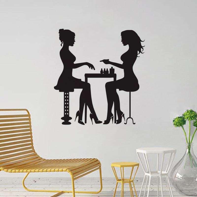 Двије дјевојке у салонима за - Кућни декор - Фотографија 2