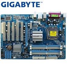 GIGABYTE GA-P43-ES3G рабочего Материнская плата P43 разъем LGA 775 для Core 2 Pentium D DDR2 16G ATX оригинальный использовать