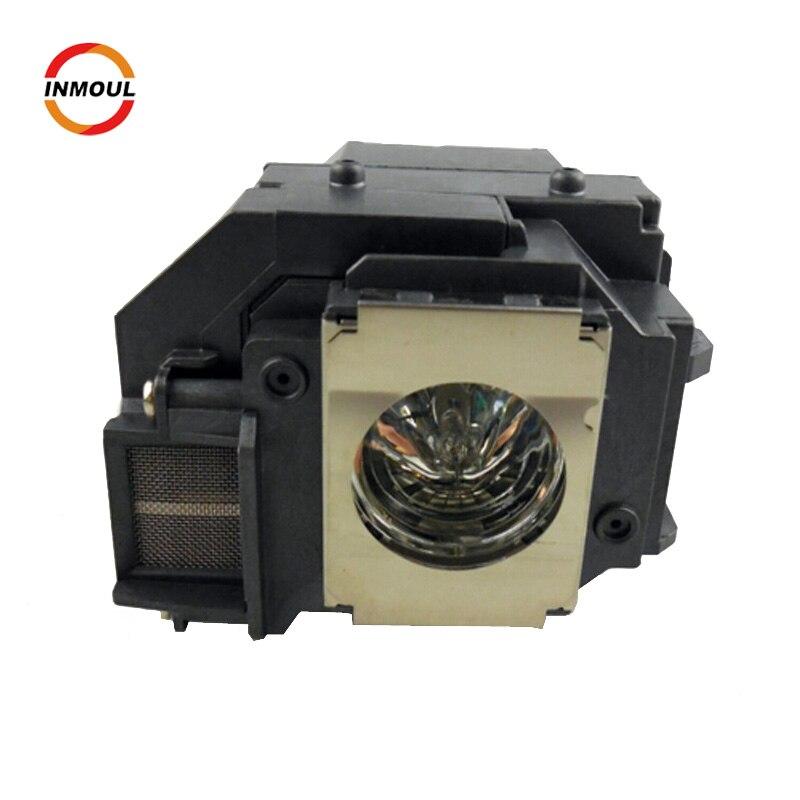 Original projector lamp bulb Module ELPLP58 for Epson EB-S9 EB-S92 EB-W10 EB-W9 EB-X10 EB-X9 EB-X92 EB-S10 EX3200 EX5200 EX7200 original projector lcd panel group h385 55t for eb c1010x c2040xn eb 900 c240x c30xh c30x sell by whole set