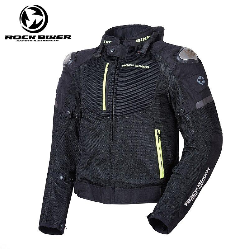 все цены на ROCK BIKER 2018 Men Motorcycle Racing jacket New Edition Dain Super Speed Tex Textile Jacket jaqueta de moto plus size