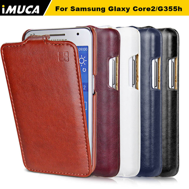 For Samsung Galaxy Core 2 Case for samsung G355H SM-G355H G355 G3559 Dual sim Case Cover Luxury flip leather capa