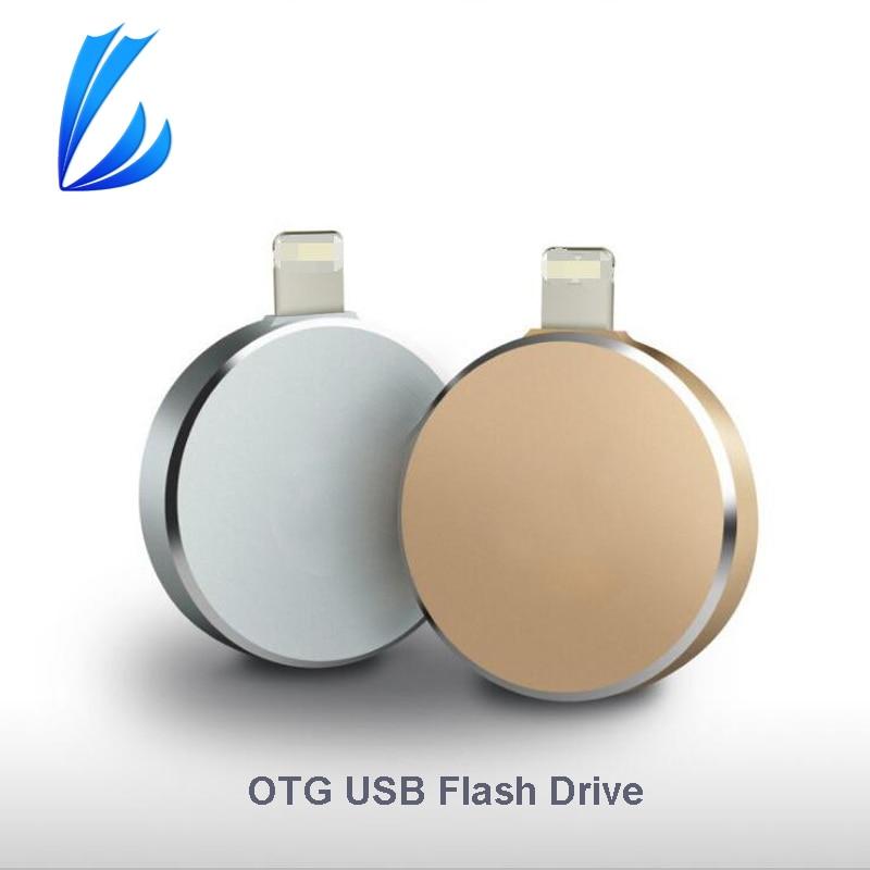 LL TRADER USB Flash Pen Drive For iPhone IOS Android i-Flash Drive OTG USB Flash Drive Device Memory Storage Stick 128GB/64 GB цена и фото