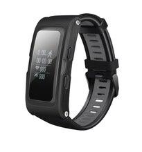 GPS послужной умный Браслет датчик давления пульсомер несколько движение режимы длительным временем ожидания Bluetooth SmartBand