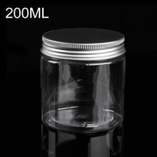 цена на 200ml Empty Plastic Bottle Loose Powder Container Makeup Jar Travel Cosmetic Case Packaging Refillable Bottles with Lids