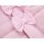Moda Otoño Invierno Ropa de la Muchacha Infantil Del Bebé Suave Rosa Chaquetas de Algodón Ropa de Recién Nacido ropa de Abrigo