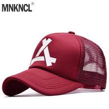 2018 New Spring Summer Baseball Mesh Cap Snapback Dad Hat Fashion Hats Trucker Adjustable Hip Hop Hat God Pray Women Men Cap(China)