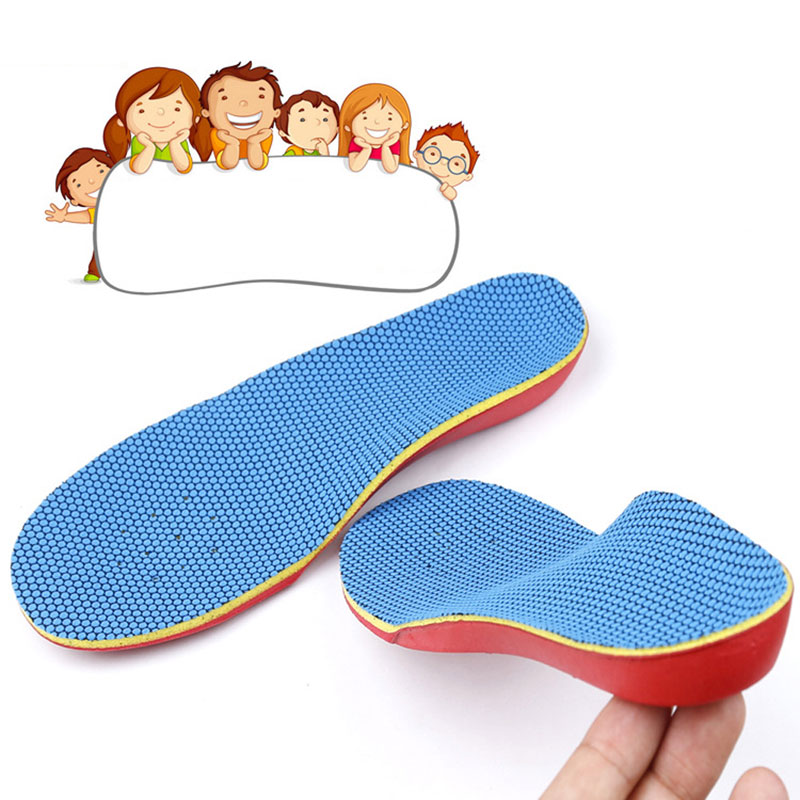 1 Pair Unisex Orthopedic Orthotic Arch Support Insoles Pads for Flatfoot Flat Foot 32-35 ...