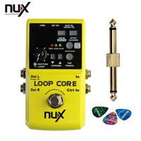 2014 NUX Loop Core Violao Guitar Electric Effect Pedal 6 Hours Recording Time Built In Drum