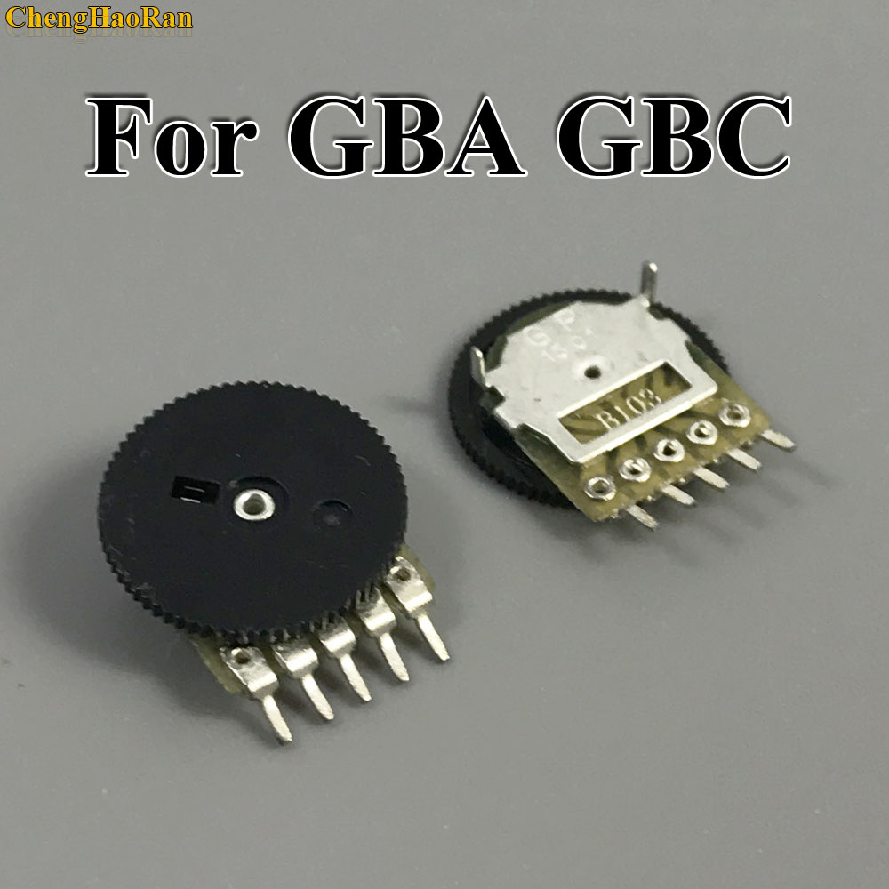 ChengHaoRan 2pcs Replacement For GB Classic Volume Switch for Game boy for GBA GBC Motherboard Potentiometer-in Replacement Parts & Accessories from Consumer Electronics