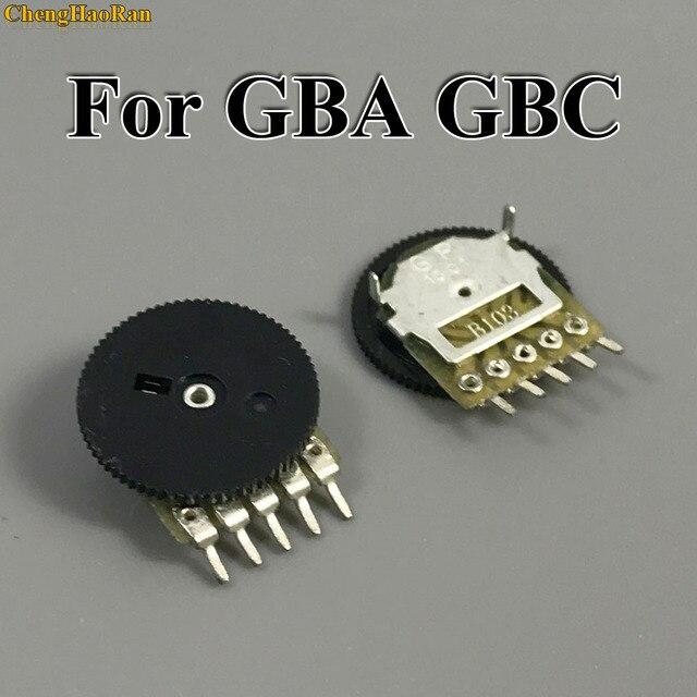 ChengHaoRan 2pcs di Ricambio Per GB Classic Volume Interruttore per Game boy per GBA GBC Scheda Madre Potenziometro