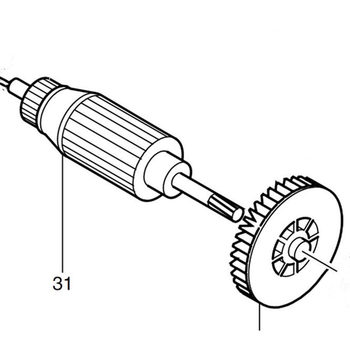 Armature 517268-6 Rotor For Makita 4322 4324