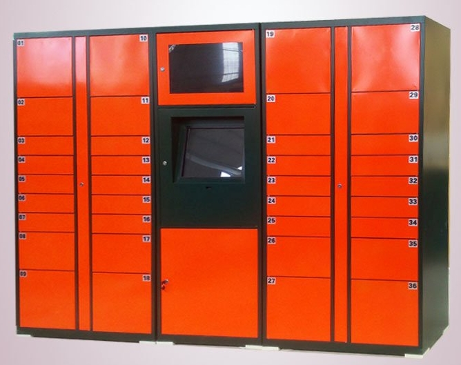 Self-service Barcode QR Code Password Parcels Cabinets Wifi Remote Control Smart Electronic Lockers Safes