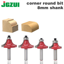 JGZUI Round Over Beading Edging Router Bit Wood Cutting Tool woodworking router bits