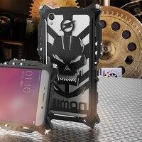 For OPPO R9 R9 Plus Phone Case Simon Thor Series Aviation Aluminum Metal Rugged Armor Cover