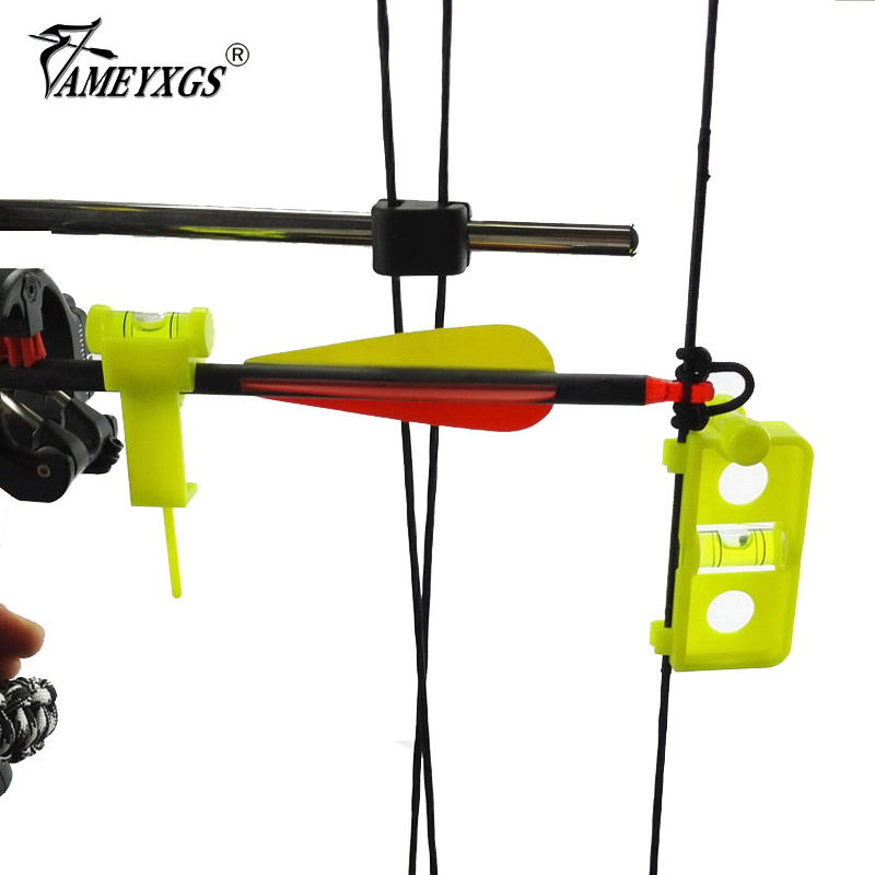 Archery Bow Tuning Mounting String Level Combo Compound Bow and Arrow Level Nock Snap Snap on String Hunting Level Combo compuesto