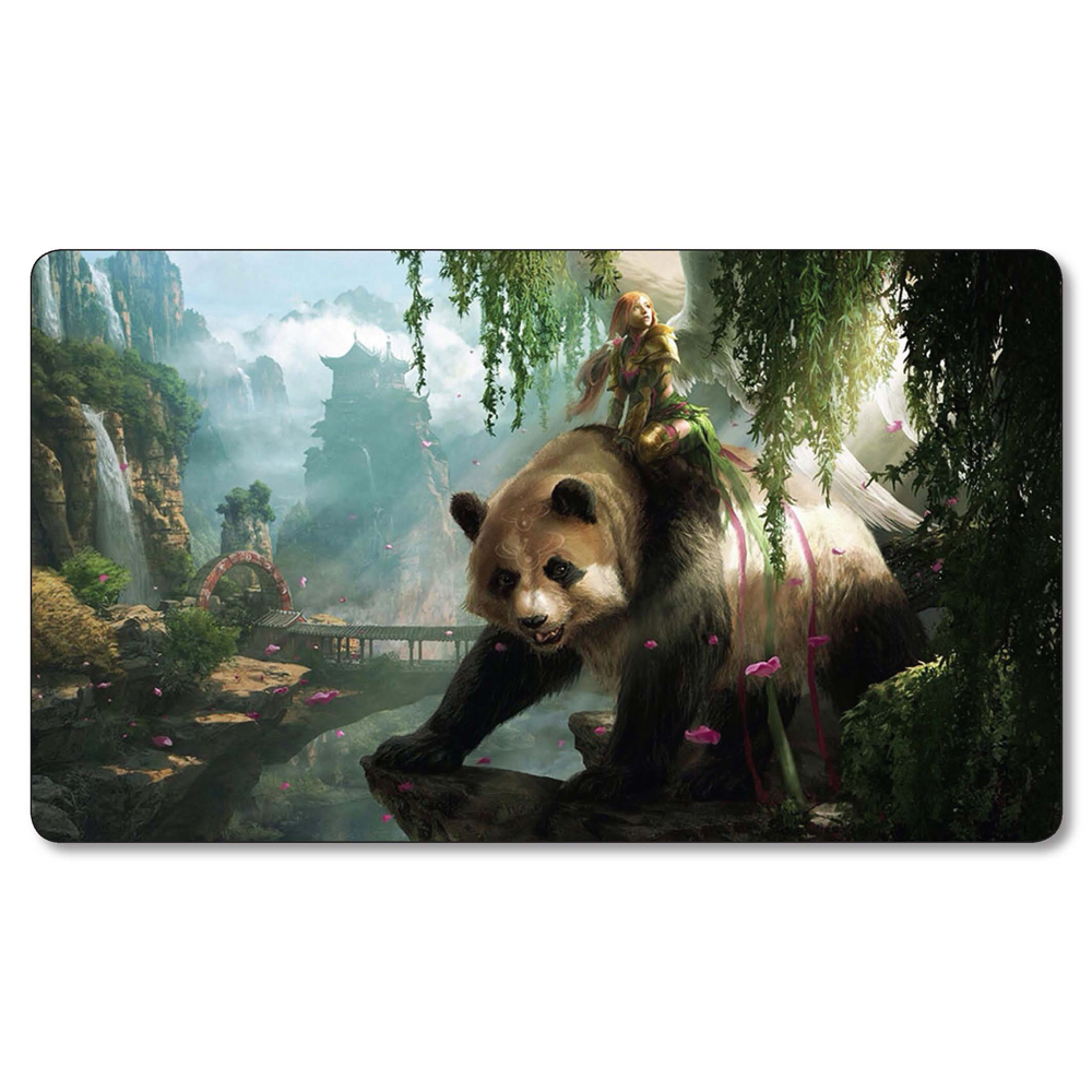 High Quality 2MM Thick Table Pad MGT Board Games Playmat Shanghai GP Fat Panda MGT Cards Playmat, Can Also Be Customized