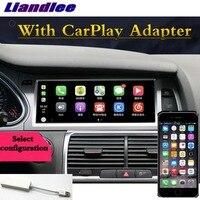 Для Audi A6 A6L 2004 ~ 2011 Liandlee автомобильный мультимедийный плеер NAVI аксессуары Радио стерео CarPlay адаптер gps навигатор, экран навигации
