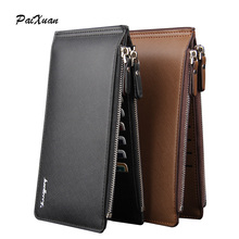 new luxury 2015 wallet men wallets famous brand male card hold phone pocket leather pu bags men's wallet purse carteira cuzdan
