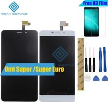 Для UMI Супер Оригинальный ЖК-Дисплей и Сенсорный Экран + Инструменты Замена Дигитайзера Ассамблея 1920X1080 P 5.5 inch для UMI Супер Евро