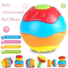 Baby Toys Transformation Fitness Ball Baby Educational Building font b Block b font Ball Magic Cubes
