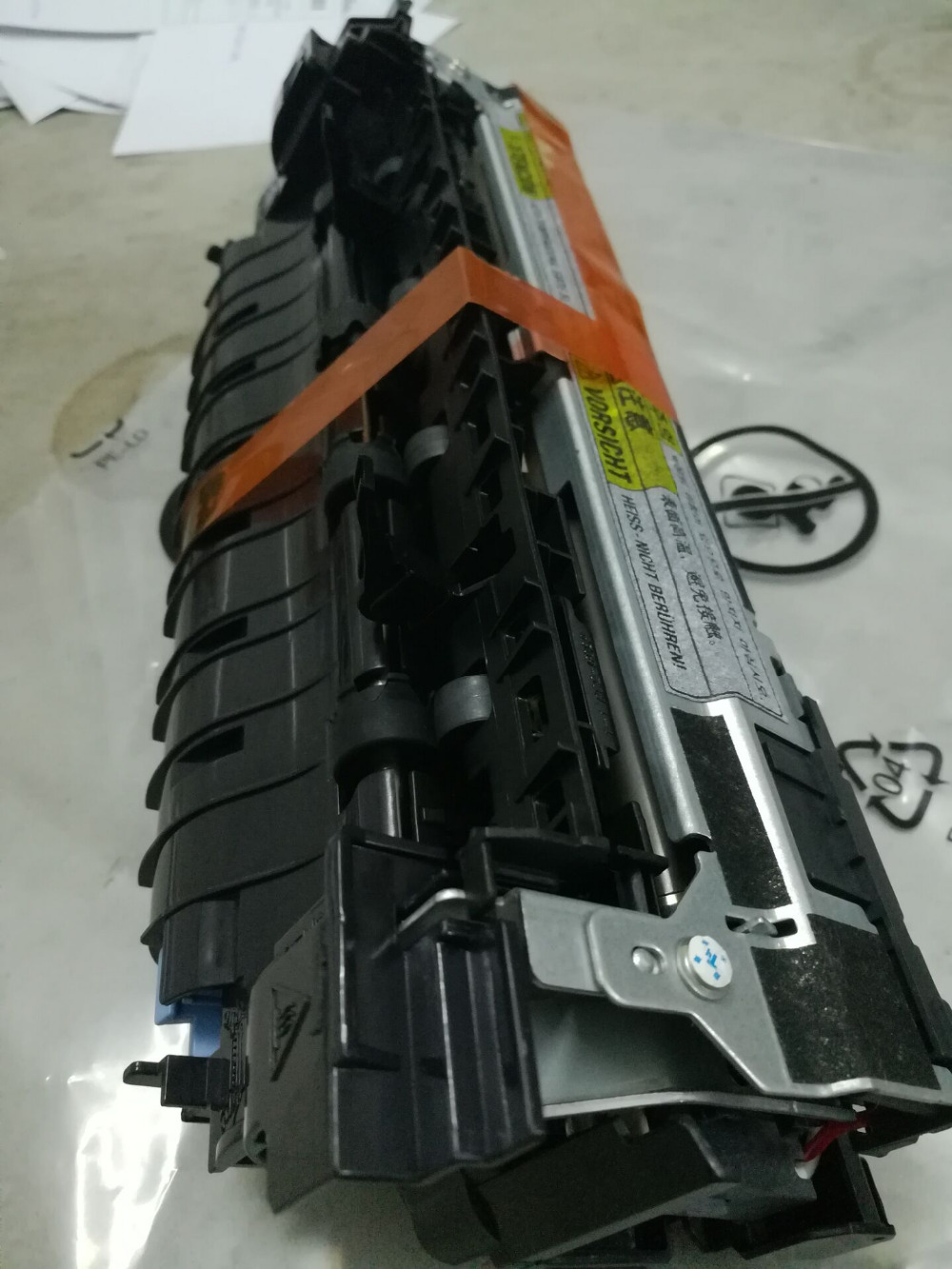 95%new Original RM2-6342 E6B67-67902(200v) RM2-6308 E6B67-67901(100V) Fuser Assembly For HP Laserjet M604/M605/M606 Heating Unit запонка arcadio rossi запонки со смолой 2 b 1026 20 e