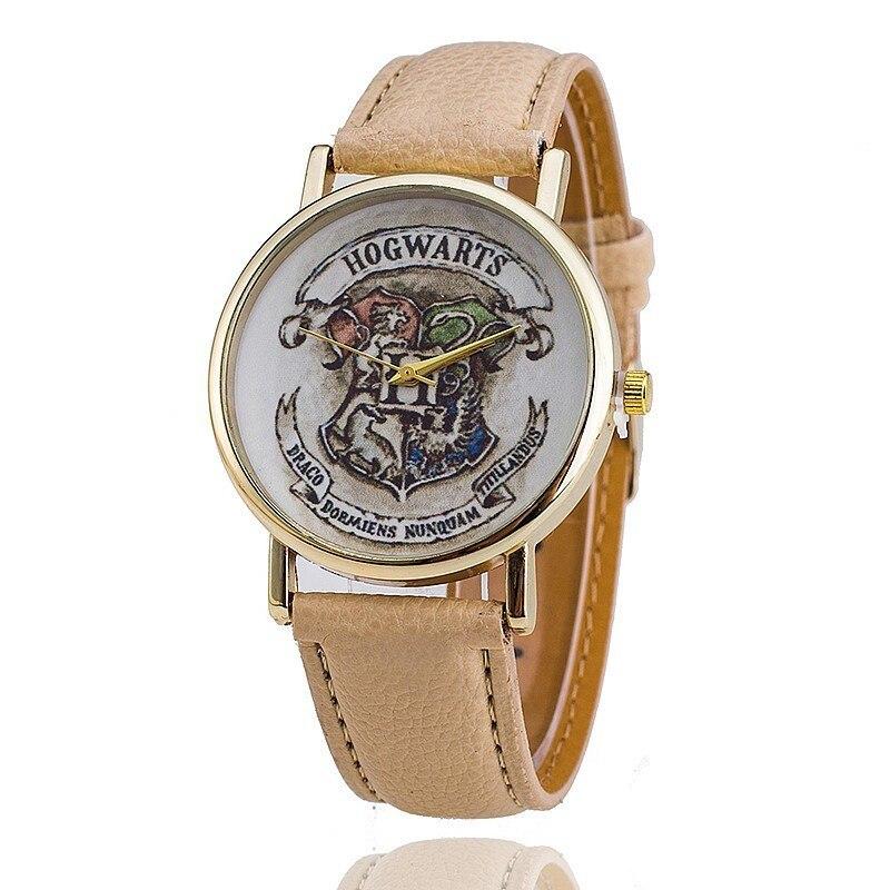 The Popular HOGWARTS Magic Schoolboy Watch Unisex Watches Women Wristwatch Casual Luxury Quartz Watches Relogio Free Shipping