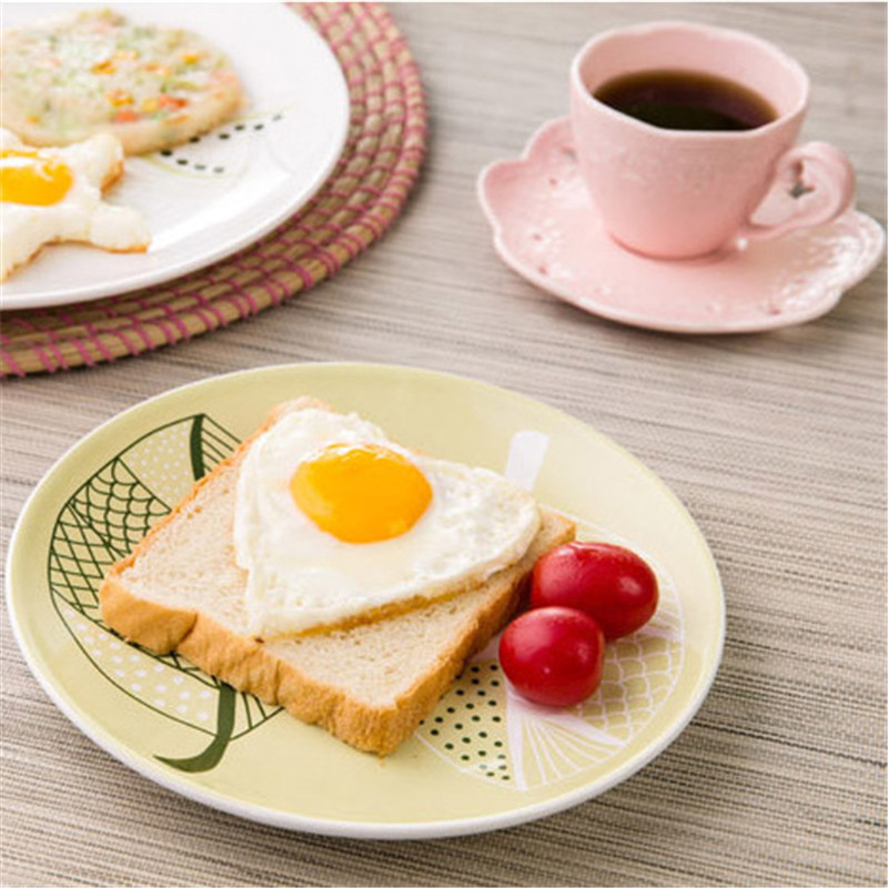 Fashion 1PC Stainless steel Cute heart Shaped Fried Egg Mold Pancake Rings Mold Cooking Kitchen Tool in Egg Pancake Rings from Home Garden