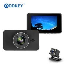 """ADDKEY супер ночного видения Автомобильный видеорегистратор Камера ADAS/LDWS FHD 1296 P/1080 P """" ips видеорегистратор регистратор парковки монитор dvr"""