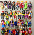 10Pcs/Lot 7cm Original Germany Playmobil Toy action figure blocks randomly kids toys Christmas gift collection TOY