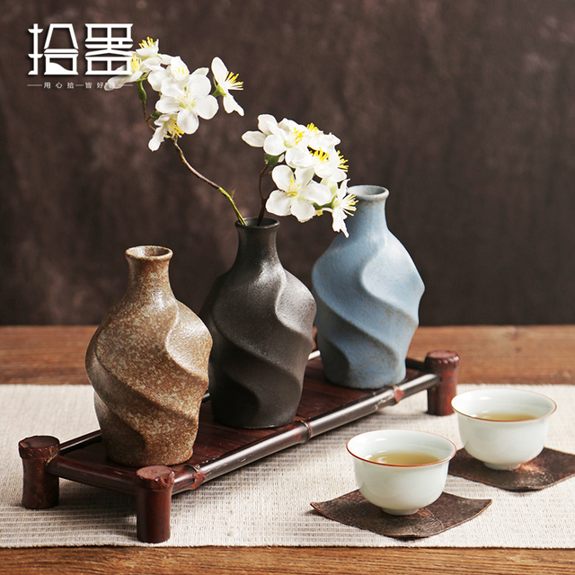 2018 Europe Ceramic Vase Modern Fashion Decorative Ceramic Flower Vase For Homes Porcelain Vases For Wedding Tabletop Vase Decor 2