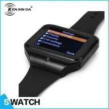 Kenxinda S-watch 2.0 Inch Large Screen 2G Unlocked GSM Built In Camera Sim Slot Music Watch Phone with Bluetooth Earphone