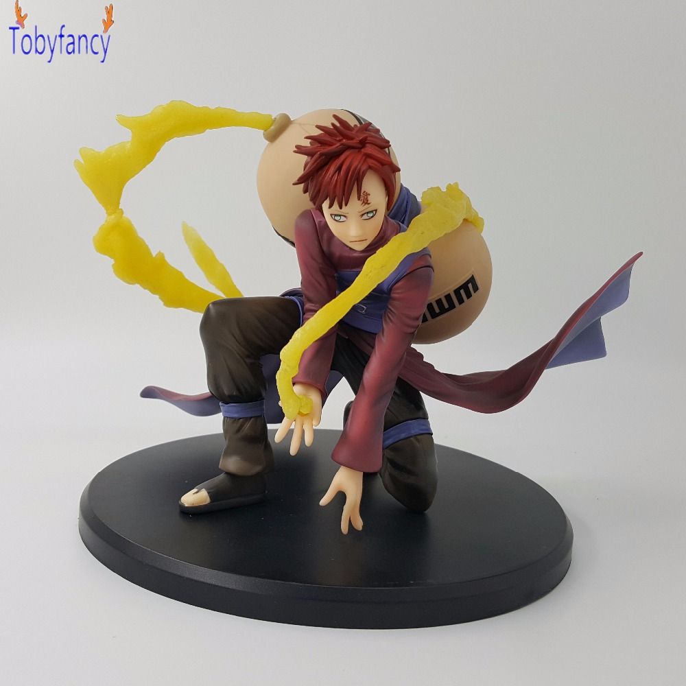 Anime Naruto Gaara 150mm PVC Action Figure Toys Anime Movie Naruto Shippuden Cartoon Model Doll Toy Gift Sabaku no Gaara