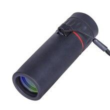 Novo 30x25 hd monocular óptico mini portátil zoom foco telescópio binóculos de viagem ao ar livre acampamento caminhadas caça ferramentas