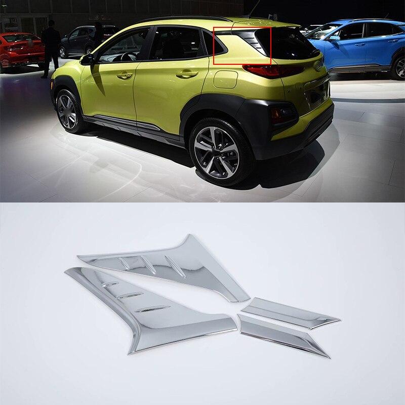 ABS Plastic Car body kits Side window Decoration Trim 2pcs For HYUNDAI ENCINO car accessories
