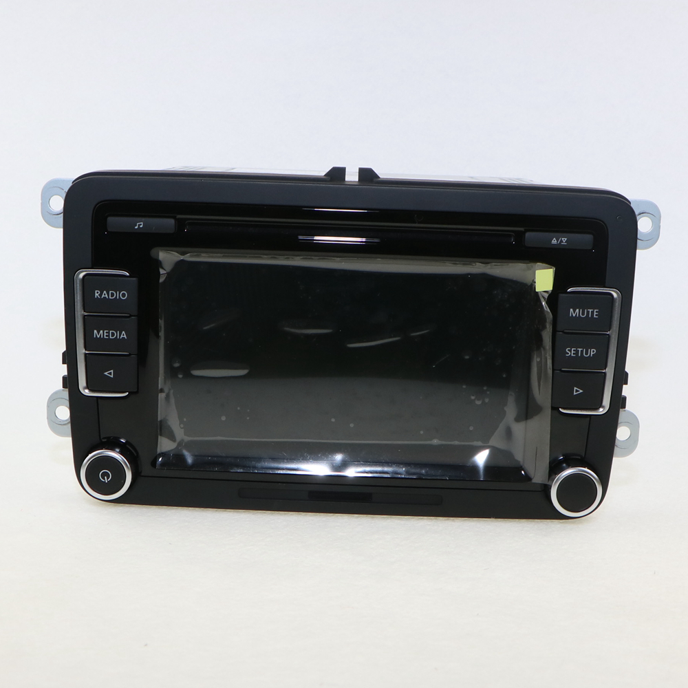 OEM Original Car Radio RCD 510 RCD510 CD MP3 AUX USB Code For VW NEW POLO Jetta Golf 6 GTI MK6 Passat B6 B7 Tiguan 5ND035190A