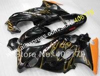 Hot Sales,Cheap price 2006 2007 moto Fairing For Suzuki Katana GSX750f GSX600f 1998-2007 Yellow Flame Bodywork Fairing kit
